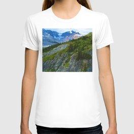 Views along the Wilcox Pass Hike in Jasper National Park, Canada T-shirt
