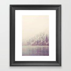 winter wonderland ...  Framed Art Print