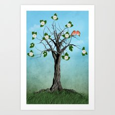The Song of Spring Art Print