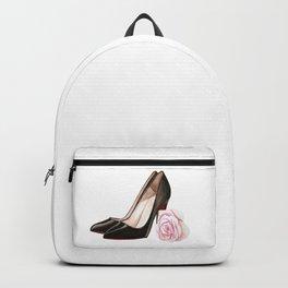 Elegant floral heels Backpack