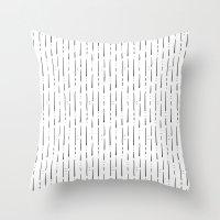 stripe Throw Pillows featuring Stripe  by Steffen Remter