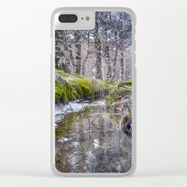 Through - Colorful Clear iPhone Case