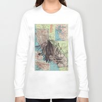 california Long Sleeve T-shirts featuring California by Ursula Rodgers