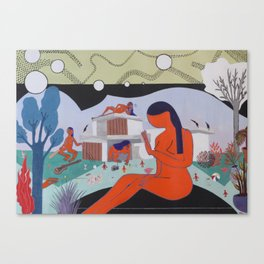 HOUSE PARTY Canvas Print