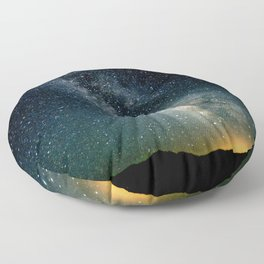 The Milky Way Floor Pillow