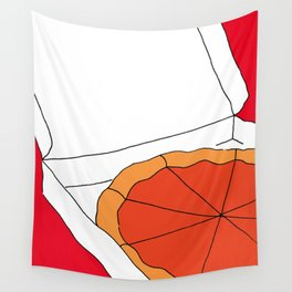 Hot Pizza Box Wall Tapestry