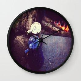 Campfire Coffee Wall Clock