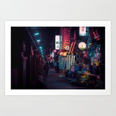T0:KY:00 / Asakusa Nights Art Print