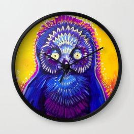 Owl Medicine Wall Clock