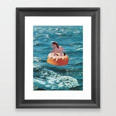 ADRIFT Framed Art Print
