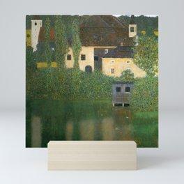 """Gustav Klimt """"Schloss Kammer on Lake Attersee I"""" Mini Art Print"""