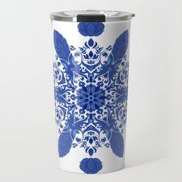 Flowerflake #12114861 Travel Mug