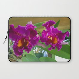 Frilly Orchids Laptop Sleeve