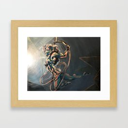 Hoop Trio Framed Art Print