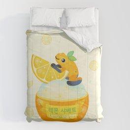 Golden poison lemon sherbet 2 Comforters