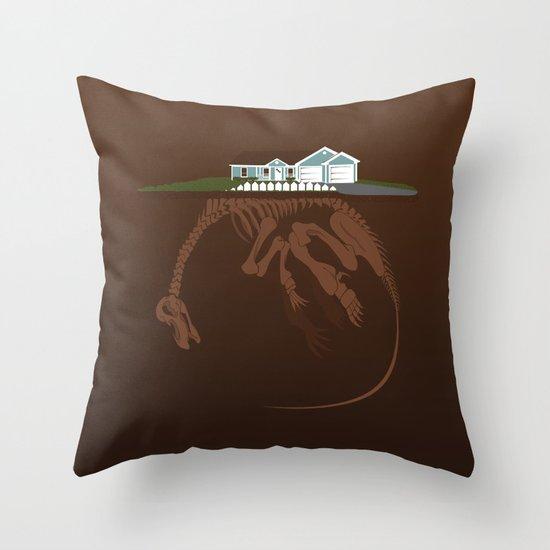 picket. Throw Pillow