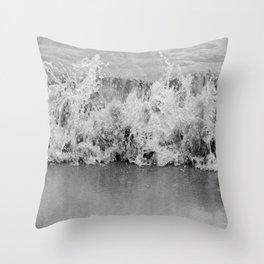 Tiny Splash Throw Pillow