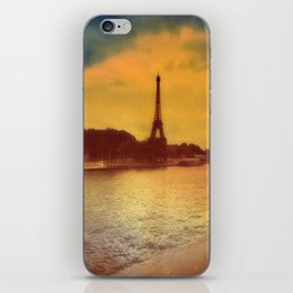 Paris from a Distance  iPhone Skin