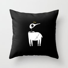 Death and His Friends Throw Pillow