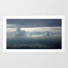 Sky Clouds Art Print