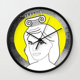 Melina Eyes Wall Clock