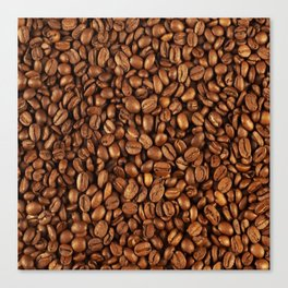 Roasted coffee Canvas Print