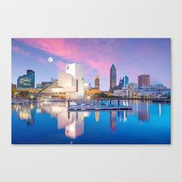 Cleveland - USA Canvas Print