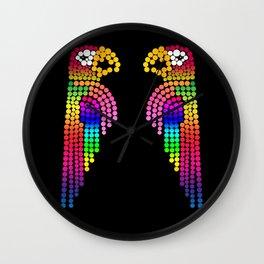 The Lovebirds Wall Clock