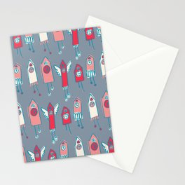 cukoo houses Stationery Cards