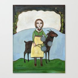 Two Companions Canvas Print
