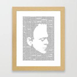 Frankenstein - The Modern Prometheus Framed Art Print