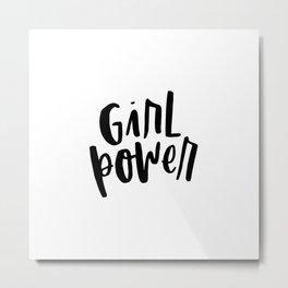 Girl Power 2 Metal Print