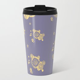 Yellow Punk Travel Mug