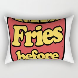 Fries-before-Guys Rectangular Pillow