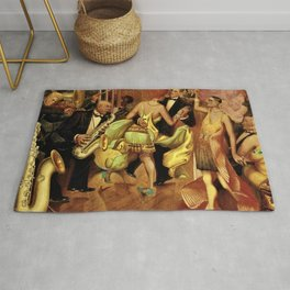 Metropolis No. 2 - Gross Stadt by Otto Dix Rug
