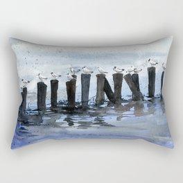 akwarelka 47 Rectangular Pillow