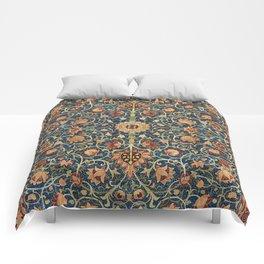 William Morris Floral Carpet Print Comforters