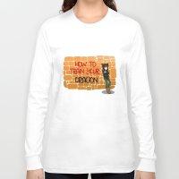 graffiti Long Sleeve T-shirts featuring Graffiti by snowrunt