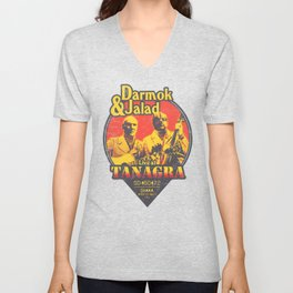 Darmok and Jalad at Tanagra - Sunset Unisex V-Neck