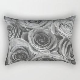 Textured Floral Rectangular Pillow