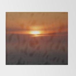 The Golden Hour Throw Blanket