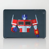optimus prime iPad Cases featuring Autobots, Roll out! (Optimus Prime) by DWatson