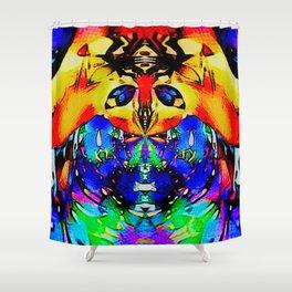 Frisky remix Shower Curtain