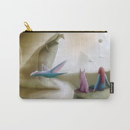 Watching Dragons Carry-All Pouch