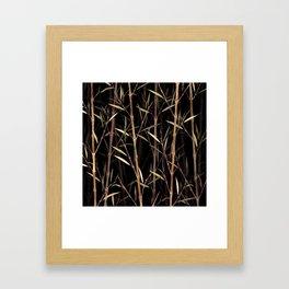 Summer Bamboo Framed Art Print