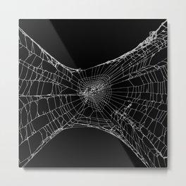 SpiderWeb Stretch Metal Print