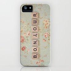 Bonjour iPhone (5, 5s) Slim Case