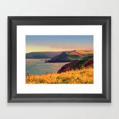 Painted Devon Framed Art Print