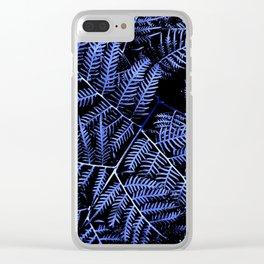 Blue Bracken Clear iPhone Case