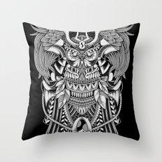 The Supreme Samurai Throw Pillow